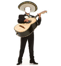 MARIACHI GUITAR PLAYER - LIFE SIZE STAND-IN/CUTOUT BRAND NEW - PARTY 1983