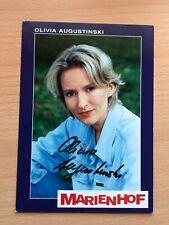 Autogrammkarte - OLIVIA AUGUSTINSKI - MARIENHOF - orig. signiert #429