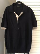 Jil Sander Short Sleeve Polo T-shirt Size 54 100% Cotton From Italy