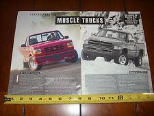 1994 Ford F150 Lightning vs. 1994 Dodge Ram Sport - Original Article