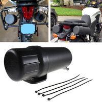 Motorcycle ATV Tool Tube Gloves Storage Box For Honda YAMAHA Kawasaki Universal