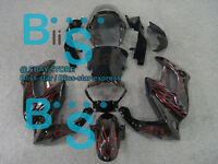 Red Fairing Bodywork For  VTR1000F 1995-2005 SuperHawk Firestorm 09 C5