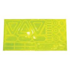 Ultimate Performance Hot Dot Yellow Running Reflective Hi Viz Sports Stickers