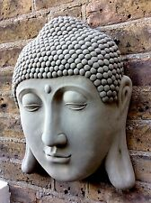 Exclusive Huge Buddhas Head Wall Plaque 45cm (16kg) From The Designer Sius