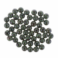 50pcs     Black     Glass     Marbles     Ball     Toy     Traditional     Game