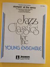 Stompin' At The Savoy, Benny Goodman, arr. Dave Barduhn, Big Band Arrangement