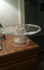 Waterford Marquis Crystal cake plate stand, NEW