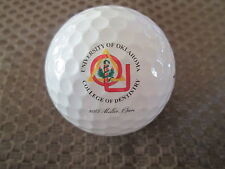 Logo Golf Ball-Ncaa.University Of Oklahoma College Of Denistry-2005 Molar Open