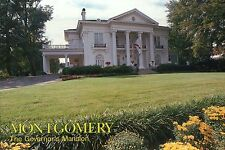 The Governor's Mansion, Montgomery, Alabama, Garden, Driveway, Flags -- Postcard