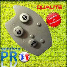 Pad 3 bouton caoutchouc pour clé de telecommande plip Citroën c5 Xsara II 2 cle