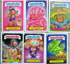 GARBAGE PAIL KIDS BRAND NEW SERIES 2 LOT of 6 OPENED CARDS BNS 2 (lot #4)