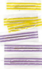 10 Chapado en Oro De Punto De Cruz Agujas Romo finalizado Tamaño 20 agujas de bordado