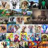 5D DIY Diamant Malen Elefant Tier Kreuzstich Stickereien Mosaik Art Decor