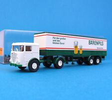 Brekina H0 7911 BÜSSING Koffer-Sattelzug BÄREN-PILS LKW HO 1:87 Box