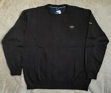 Paul shark sweater long sleeve top jumper pullover Color:Brown Size :5XL