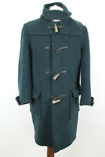 GLOVERALL Green Duffle Coat size 12