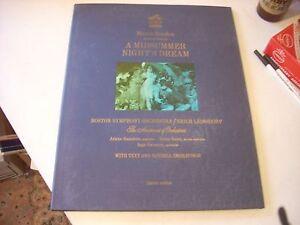 Mendelssohn Midsummer Night's Dream Leinsdorf LM/D 2673 Limited Edition