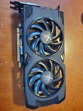 XFX RS RX 470 4GB VIDEO CARD 2X FAN HDMI DP DVI WORKS REFURB