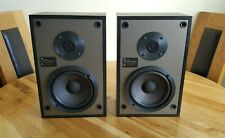 Vintage Acoustic Research AR8LS HiFi Bookshelf Stand/Mount Speakers - 60 W