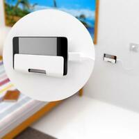 Universal Wall Mount Stand Cradle Mobile Phone Charger Hang Holder Stand Bracket