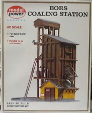 "Model Power #410 ""Bors Coaling Station"" HO-Scale Building Kit SEALED NOS"