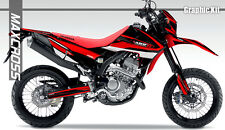 HONDA CRF250L CRF250M MAXCROSS GRAPHICS KIT DECALS DECAL STICKERS FULL KIT #23