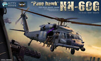 """Kitty Hawk KH50006 1/35 HH-60G """"Pave hawk"""" Helicopter Plastic 2019 Model Kits"""