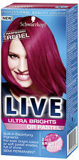 Schwarzkopf Live Color Ultra Brights 91 Raspberry Rebel X3