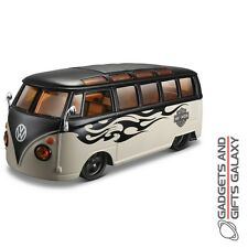 MAISTO HARLEY DAVIDSON SAMBA VAN 1:24 SCALE DIECAST MODEL CAR collectors gift
