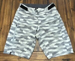 """Specialized Mens 30 MTB 11.5"""" Cycling No Liner Enduro Sport Shorts Gray *Read"""