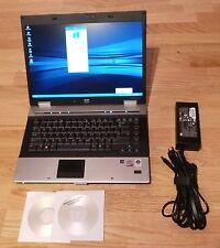 HP 8530P Laptop 2.53GHz 4GB 160GB HDD 15.4 Vista Fingerprint HDMI soft recovery