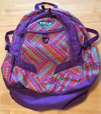Grip By High Sierra Backpack Purple With Print