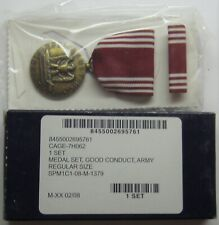 U.S. Army Good ConductMedal Set in Box
