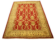 Rug Ziegler Pakistan 260x190 CM 100% Wool Hand Knotted Red Top Condition