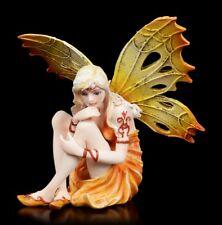 Elfen Figur - Firebell - Fantasy Feuerelfe Feen Dekostatue