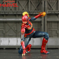 S.H.Figuarts SHF Marvel Avengers Captain Marvel Action Figure Boxed