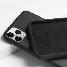 Para iPhone 11 Pro Max XS XR X 8 7 6s Plus 12 Funda de Silicona Líquida Carcasas