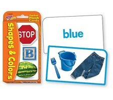 Colors & Shapes Pocket Flashcards Speech Therapy Early Literacy