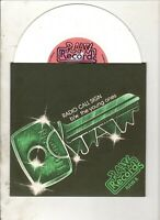 "LOCKJAW Radio Call Sign 7"" w/PS RE 70s PUNK ROCK The Cure White Vinyl"