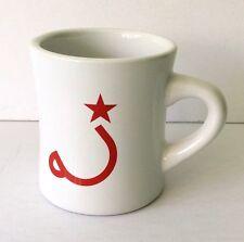RITUAL COFFEE ROASTERS Mug Heavyweight Ceramic White With Red Logo San Francisco