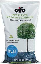 CIFO CONCIME UNIVERSAL BLU NPK12-12-17+FE PER PIANTE ORTO GIARDINO GRANULARE 5KG