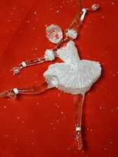 "VTG~5"" LUCITE~BALLERINA~DETAILED SWAN LAKE COSTUME~UNIQUE!~BEAUTIFUL~2 AVAILABLE"