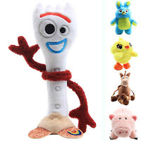 Toy Story 4 Forky Ducky And Bunny Scented Stuffed Teddy Plush Doll Kid Gift