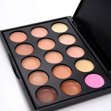 15 Shades Colour Concealer Contour Beauty Makeup Palette Kit Make Up Set Hot