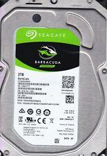 Seagate ST2000DM005 2CW102-568 Z98 0001 TK 23MAR2017 2TB SATA 3.5 HDD 509