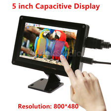 5 Inch Raspberry Pi 800*480 Capacitive Touch Screen LCD Display +Acrylic Bracket
