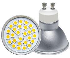 GU10 5 Watt Super Bright LED 45W Brightness Cool White 27SMD LED Aluminium Body