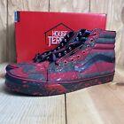 VANS Sk8 Hi x Nightmare on Elm Street Freddy Krueger Shoes Mens Size 10 Sneakers