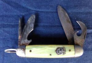 Vintage Imperial Prov. R.I. Boy Scout Pearline Deluxe Pocket Knife