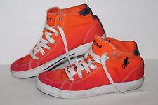 Polo Ralph Lauren Axe High Casual Sneakers, #816113018, Org/Pink, Men's US 10.5
